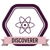 """Badge icon """"Nuclear (194)"""" provided by The Noun Project under The symbol is published under a Public Domain Mark"""